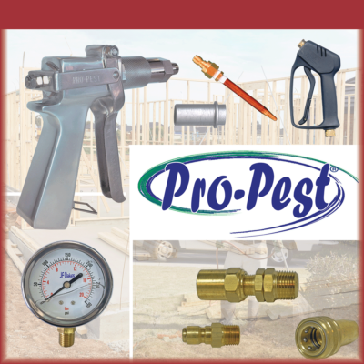 Spray Guns, Gauges, Treating Tips, Quick Couplers & Fittings