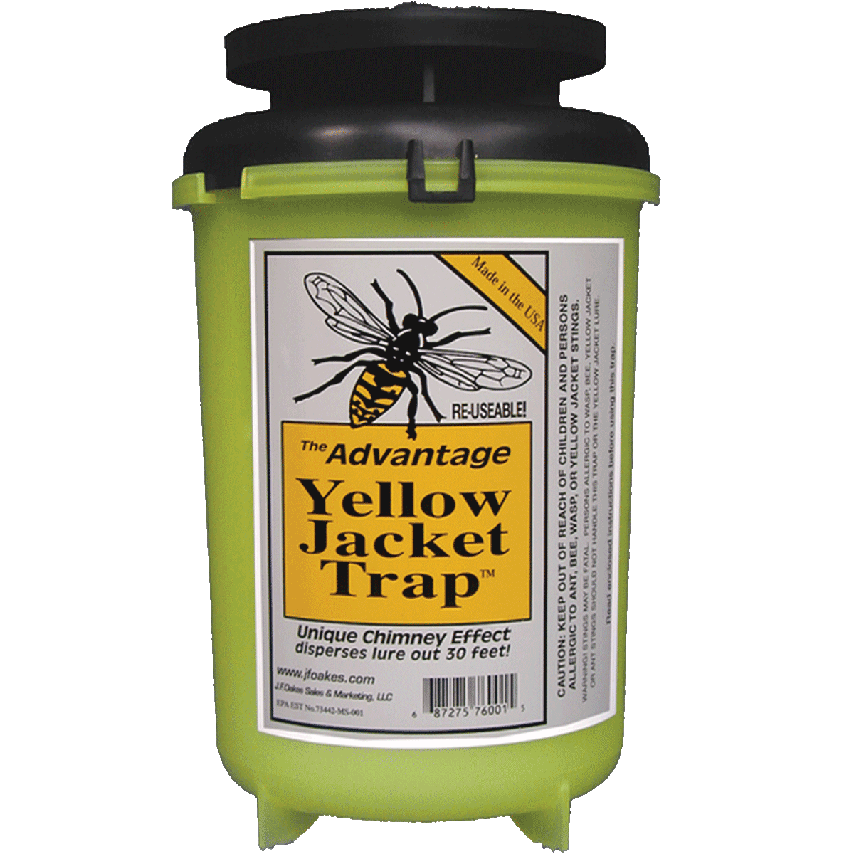 The Advantage Yellow Jacket Trap
