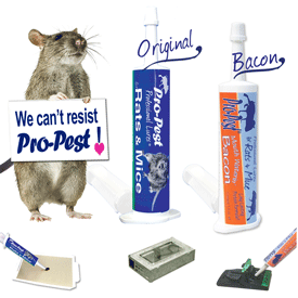 Rats & Mice Love Pro-Pest Rodent Lures